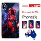 iPhone Silicone Cover Case Star Wars Force Awakens Darth Talon Femme - Coverlads $14.95 AUD