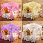 Princess Bedding Canopy Mosquito Netting Or Bed Frame(Post) Full Queen King Size image