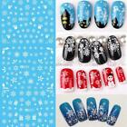New Women Fashion Nail Art Manicure 3D Decoration Nail Glitter Christmas N98B