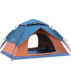 Lightweight Automatic Anti-UV Water Resistant Tent Camping 3 Season 3-4 Person