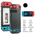 For Nintendo Switch TPU Soft Protective Back Case with Screen Protector Film