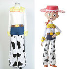 Disney Toy Story Cowgirl Jessie Cosplay Costume Outfit Jeans
