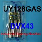 10 Industrial Sewing Machine Needles Uy128gas 62x43 Dvx43 Size 14 to 18 Singer