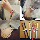 Fashion Women's Casual Watch Small Dial Leather Band Quartz Analog Wrist Watches image
