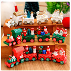 Party Decorations Christmas Woods DIY Small Train Children Cartoon Gifts 97k wcc