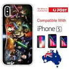 iPhone Silicone Cover Case Star Wars Cast Anakin Luke Yoda Darth V - Coverlads $14.95 AUD