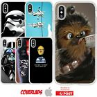 iPhone Silicone Cover Case Star Wars Banter Funny Jedi Dark Force - Coverlads $14.95 AUD