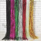 New Foil Curtain Tinsel Shimmer Birthday Wedding Party Door Decorations Supplies