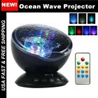 Romantic Night Light Projector Lamp Remote Control Ocean Wave 7 Colors Ceiling
