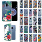 "For Samsung Galaxy S9 Plus 6.2"" Slim TPU Clear Silicone Gel Skin Back Case Cover"