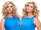 Top Full 12 Remy Human Hair Double Mono Hand Tied Jon Renau Clip-in-Extensions