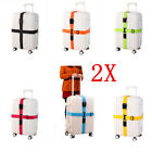 2X Travel Safty Luggage Packing Suitcase Strap Baggage Backpack Bag Strap Belt