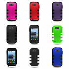 zte savvy cover - For ZTE Savvy Case - Protective Hybrid Two Layer Hard Phone Cover