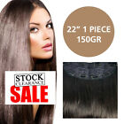 "22"" European Remy Clip In Hair Extensions - 1 Piece - 150gm (56 CM)"