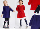 Girls outfit dress with tights M & S baby age 12 18 24 months 2 5 6 7 years