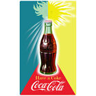 Coca-Cola Winter Summer Sun Wall Decal Vintage Style Coke $19.99  on eBay