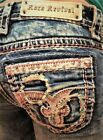 NWT New Womens Rock Revival Luiza Straight Jeans 25 26 27 28 29 30 31 32 34
