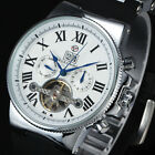 FORSINING Luxury Sports Automatic Mechanical Watches Vintage Black Rubber Straps