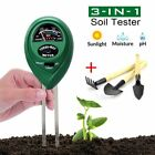 Soil pH Meter,Tookit 3-in-1 Test Kits Gardening Tools for PH/Moisture/Light, Kit