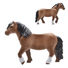 Playmobil Horse Stallion Mare Cold Blooded Pony White Tie Pony Farm Western