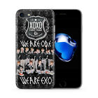 EXO Korean Boy Band Kpop Suho Phone Case Cover Apple iPhone 5 6 7 8 X Plus Model