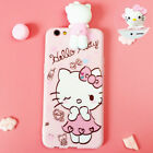 HOT 3D Gift Cute Disney Cartoon Animal Dolls Soft Silicone Case Cover For iPhone
