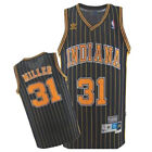 Reggie Miller #31 Indiana Pacers Men's Navy Hardwood Classics Throwback Jersey