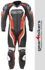 RST Tractech Evo 2 1415 One Piece Red Motorcycle Leather Suit Track Race 1