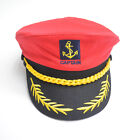 Adult Kids Fashion Sailor Ship Boat Captain Hat Navy Marins Admiral Cap Cosplay