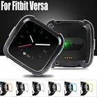 Silicone Frame Case Cover Skin Housing Shell Guard For Fitbit Versa Smart Watch