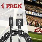 USB FAST Charger Cable Cord for PlayStation 4 slim PS4 Dualshock Controller