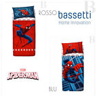 Bassetti Completo lenzuola Spiderman Marvel Singolo 1P - Blue - Red