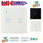 Smart Switch Wall Light WIFI Remote Touch Contorl Switch For Alexa/Echo Home UK