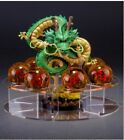 Novelty gift Dragonball Z Shenlong Shenron+7x Star Crystal Ball Set Stand Toys