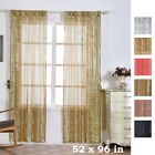Sequined 52 x 96-Inch Window Drapes Curtains 2 Panels Home Decor Party Wedding