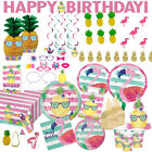 Pineapple 'n' Friends Range Tableware Balloons Decorations Banner Flamingo