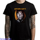 New Arturo Gatti Thunder Boxing Men's Black T-Shirt Size S to 3XL image