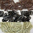 100pcs DIY Hair Extension Snap Clips UShape 33mm Brown Black Blonde Weft 983