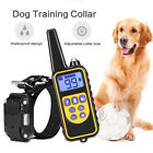 Waterproof Pet Dog Training Collar LCD Rechargeable Remote Electric Shock 800M