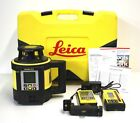 Leica Geosystems Rugby 870 Full Automatic Single Grade Rotary Laser in Hard Case