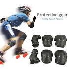 6PCS Roller Skating Skateboard Knee Elbow Wrist Protective Guard Pads Gear S-L image