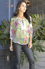 Sheer Floral Blouse Runs Large for Summer Spring Size Choice