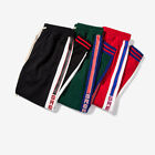Mens Great Printing  Multicolor Side Stripe Sweatpants Casual Pants New Arrival