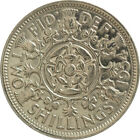 Florin : 1953-1967 : Elizabeth II : Two Shilling Coin : Choose Year