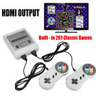 HDMI AV Retro TV Game Console 8Bit Classic Built-in 621 Games 2 Controllers rt
