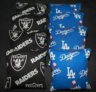 LA DODGERS & OAKLAND RAIDERS 8 ACA Regulation CORNHOLE BEAN BAGS $35.99 USD on eBay