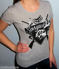 NWT FOX RACING RIDERS Gray SASQUATCH Skull FOXHEAD T Shirt Top TEE S M L
