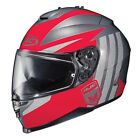 HJC IS-17 Grapple Motorcycle Helmet Red/Silver/Black