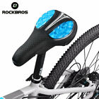 RockBros Bicycle Soft Silica Gel Pad Seat Cushion Cover Mesh Saddle Cover