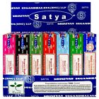 Genuine Incense Sticks Satya Nag Champa Insence Joss 15g Mixed Scents FROM 0.74P
